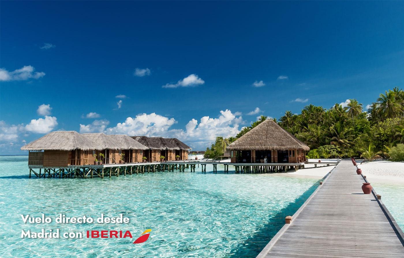 MALDIVAS - Vuelo directo